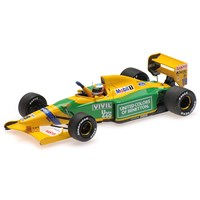 Benetton Ford B192 - 1st 1992 Belgian Grand Prix - M. Schumacher 1:43
