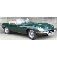 Paragon Jaguar E Type Roadster S1 3.8 - British Racing Green 1:12