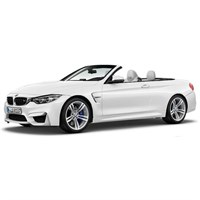 Paragon BMW M4 Cabrio - White 1:18