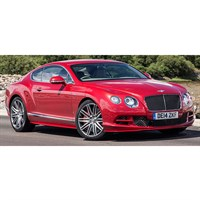 Paragon Bentley Continental GT Convertible RHD 2016 - Red 1:18