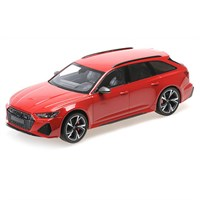 Minichamps Audi RS6 Avant 2019 - Red Metallic 1:18