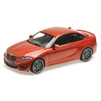 Minichamps BMW M2 Competition 2019 - Orange Metallic 1:18