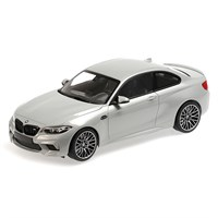 Minichamps BMW M2 Competition 2019 - Silver 1:18