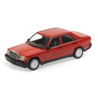 Mercedes-Benz 190E (W201) 1982 - Red 1:18
