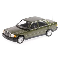 Mercedes-Benz 190E (W201) 1982 - Green Metallic 1:18