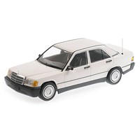 Mercedes-Benz 190E (W201) 1982 - White 1:18
