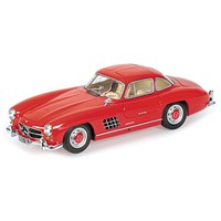 Mercedes 300 SL (W198) 1955 - Red 1:18