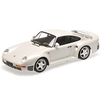 Minichamps Porsche 959 1987 - White Metallic 1:18