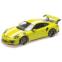 Minichamps Porsche 911 GT3 RS 2015 - Green W. White Stripe 1:18