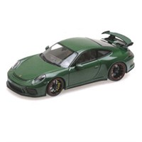 Minichamps Porsche 911 GT3 2017 - Dark Green 1:18