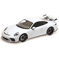 Minichamps Porsche 911 GT3 2017 - White Metallic 1:18