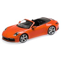 Minichamps Porsche 911 Carrera 4S Cabriolet 2019 - Orange 1:18