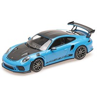 Minichamps Porsche 911 GT3 RS 2019 - Blue W. Weissach Package 1:18
