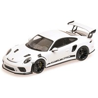 Minichamps Porsche 911 GT3 RS 2019 - White W. Black Wheels 1:18