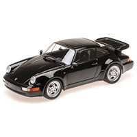 Minichamps Porsche 911 Turbo 1990 - Black 1:18