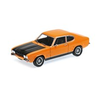 Ford Capri RS 2600 1970 - Orange & Black 1:18