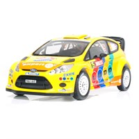 Ford Fiesta RS WRC - 3rd 2011 Rally GB - #15 H. Solberg 1:18
