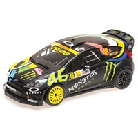 Minichamps Ford Fiesta RS WRC - 1st 2012 Monza Rally - #46 V. Rossi 1:18