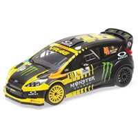 Minichamps Ford Fiesta RS WRC - 2013 Monza Rally - #46 V. Rossi 1:18