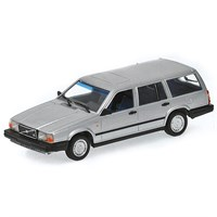 Minichamps Volvo 740 GL Break 1986 - Silver 1:18