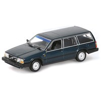 Minichamps Volvo 740 GL Break 1986 - Dark Green Metallic 1:18