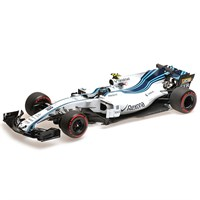 Minichamps Williams FW40 - 2017 Abu Dhabi Grand Prix - #18 L. Stroll 1:18