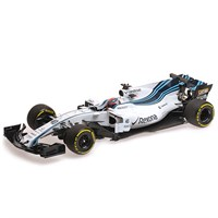 Minichamps Williams FW40 - 2017 Abu Dhabi Grand Prix Test - #40 R. Kubica 1:18
