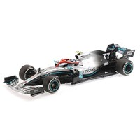 Minichamps Mercedes F1 W10 - 2019 Monaco Grand Prix - #77 V. Bottas 1:18