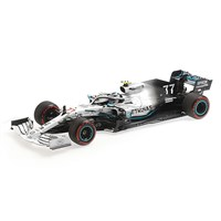 Minichamps Mercedes F1 W10 - 2019 German Grand Prix - #77 V. Bottas 1:18