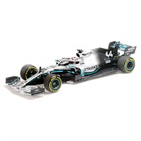 Minichamps Mercedes F1 W10 - 2019 American Grand Prix World Champion - #44 L. Hamilton 1:18