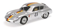 Minichamps Porsche 356B Carrera GTL Abarth - 2nd 1962 DARM GT Solitude - #23 G. Koch 1:18