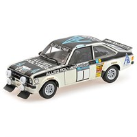 Minichamps Ford RS 1800 -1st 1975 RAC Rally - #1 T. Makinen 1:18