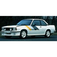 Minichamps Opel Ascona 400 1979 - White W. Stripes 1:18