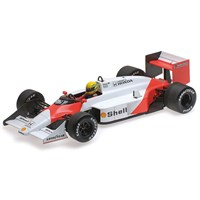 McLaren MP4/3 - 1987 Test Car - A. Senna 1:18