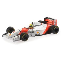 Minichamps McLaren MP4/8 - 1st 1993 European Grand Prix - #8 A. Senna 1:18