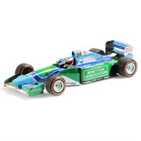 Minichamps Benetton B194 - 2017 Belgian Grand Prix Demonstration Run - #5 M. Schumacher 1:18