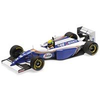 Minichamps Williams FW16 - 1994 Brazilian Grand Prix - #2 A. Senna 1:18