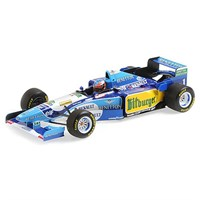 Minichamps Benetton B195 - 1st 1995 German Grand Prix - #1 M. Schumacher 1:18