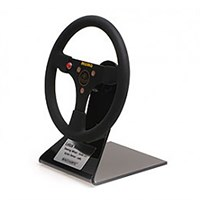 Minichamps Lotus 97T Steering Wheel - 1985 - #12 A. Senna 1:2