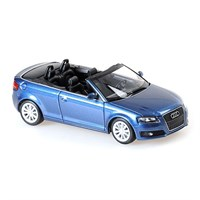 Maxichamps Audi A3 Cabriolet 2007 - Dark Blue Metallic 1:43