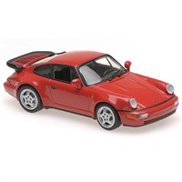Porsche 911 Turbo 964 1990 - Red 1:43