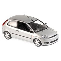 Maxichamps Ford Fiesta 2002 - Silver 1:43