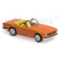 Triumph TR6 1968-1976 - Orange 1:43