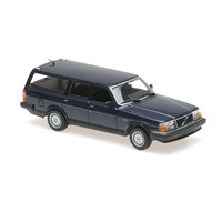 Volvo 240 GL Brake 1986 - Dark Blue 1:43