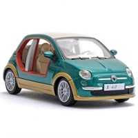 Fiat 500 Tender Two By Castagna EV 2009 - Green 1:43
