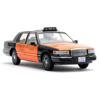 Premium X Lincoln Town Car 1996 - USA Taxi - 1:43