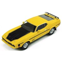 Ford Mustang Mach 1 1971 - Yellow/Black 1:43