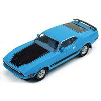 Ford Mustang Mach 1 1971 - Blue/Black 1:43