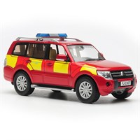 Mitsubishi Shogun - Derbyshire Fire & Rescue 1:43