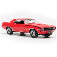 Chevrolet Camaro SS 1969 - Red/Matt Black 1:43
